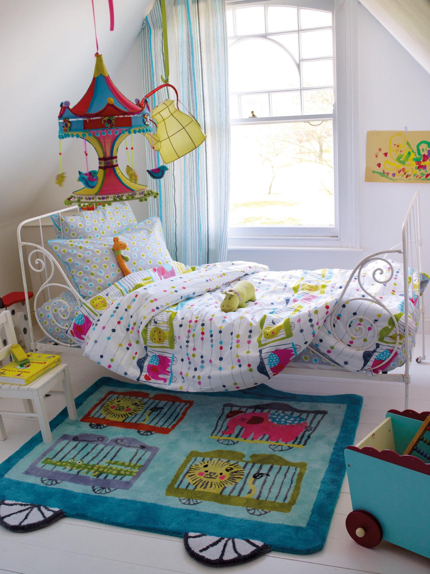 designers guild kinderbettw sche circus parade bedandroom. Black Bedroom Furniture Sets. Home Design Ideas