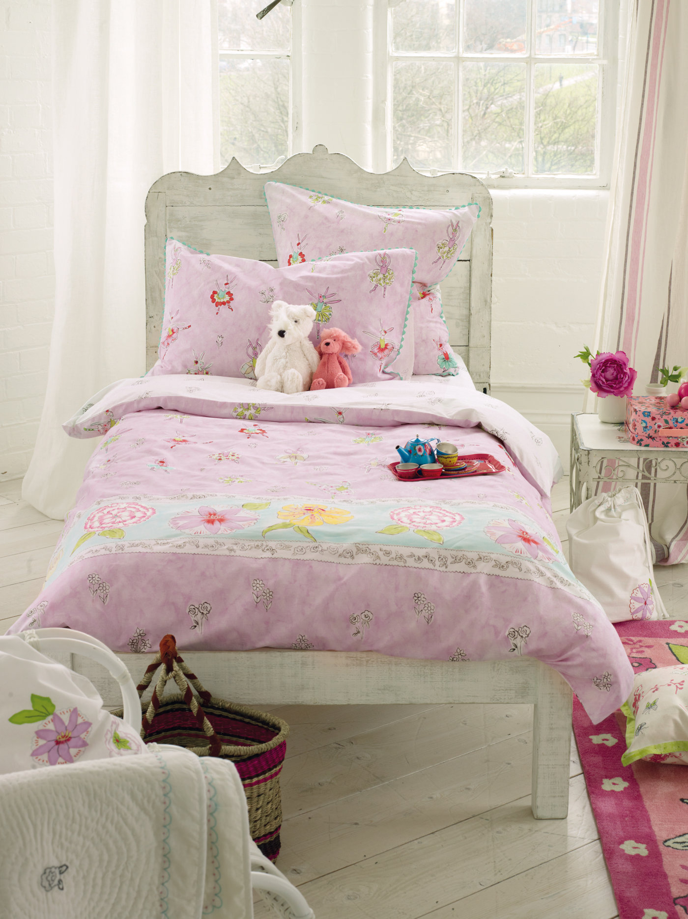 designers guild kinderbettw sche ballerina bunny bedandroom. Black Bedroom Furniture Sets. Home Design Ideas