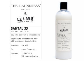 "Luxus Wäscheshampoo mit exklusivem Duft ""The Laundress & Le Labo Santal 33"""