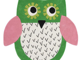"Designers Guild Kinderteppich ""Little Owl Emerald"""