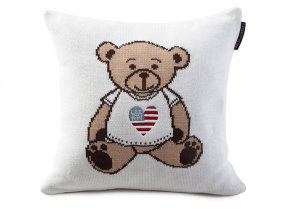 "Strickkissen ""Lexington Knitted Teddy"""