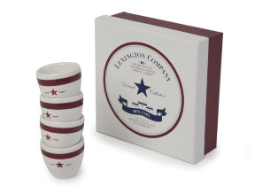 "Eierbecher 4er-​Set ""Lexington Star"" in schöner Geschenkbox"