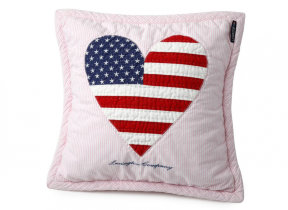 "Oxfordkissen bestickt ""Lexington Baby Quilted Heart"""