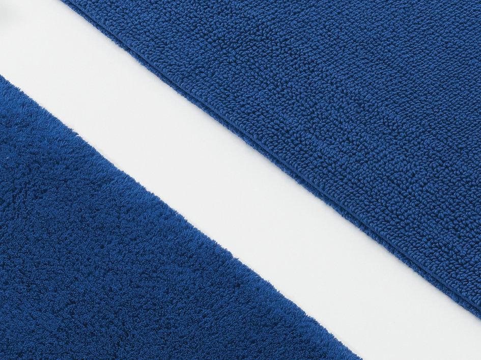 badeteppich habidecor bay 10 farben badteppich rund blau