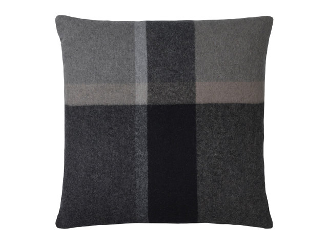 Elvang Manhattan Cushion Dark Natural