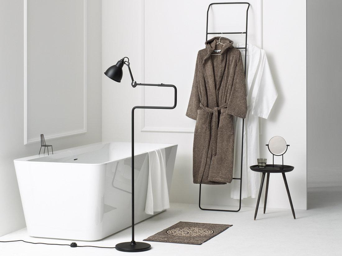 baumwoll leinenfrottiermantel leitner inverness in 9 farbvarianten von leitner leinen. Black Bedroom Furniture Sets. Home Design Ideas