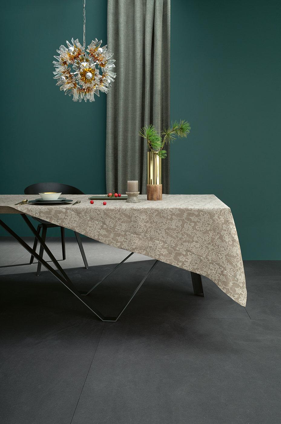 leinentischw sche serie leitner mariage jacquard in 12 farbvarianten von leitner leinen. Black Bedroom Furniture Sets. Home Design Ideas