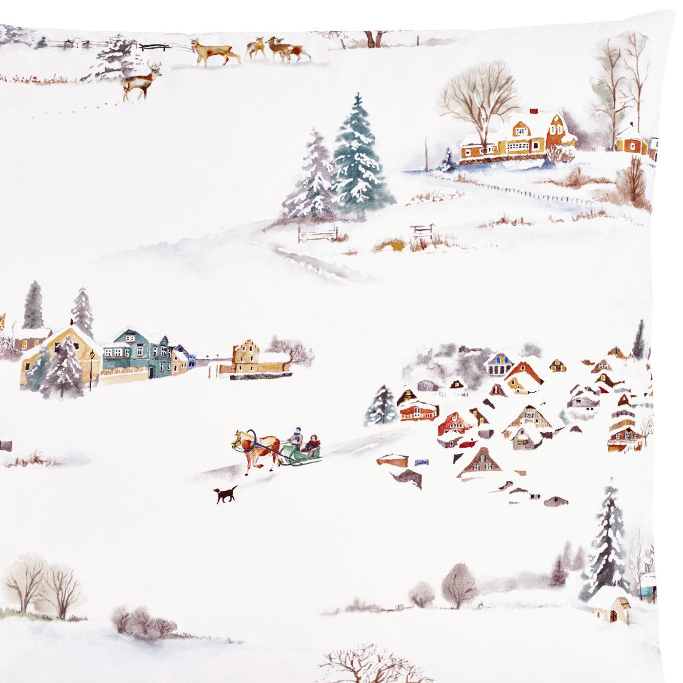 satinbettw sche fischbacher wintermorgen von christian fischbacher. Black Bedroom Furniture Sets. Home Design Ideas