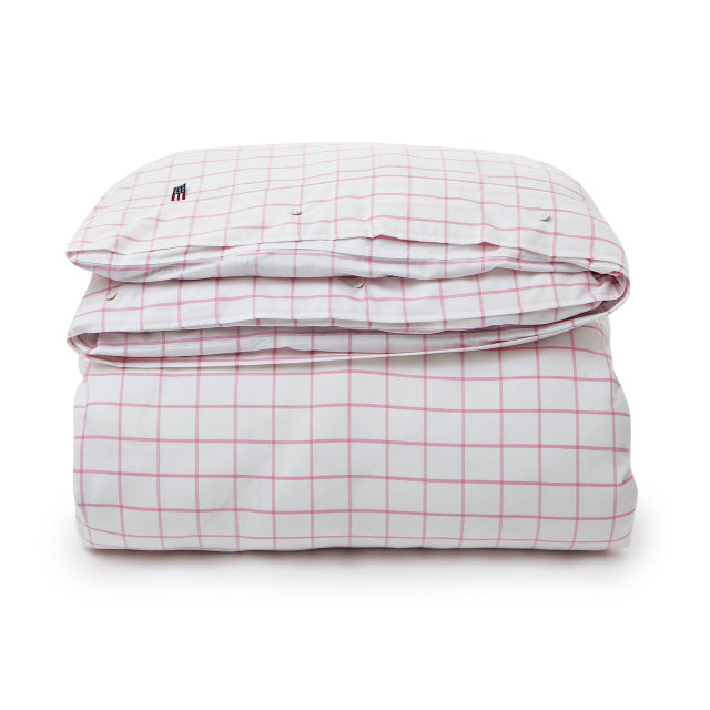 "Jacquardbettwäsche ""Lexington Pink Shaker Check"""