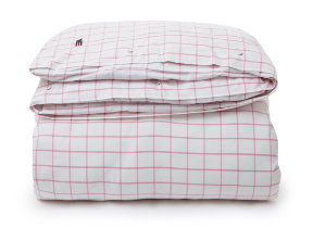 "Oxford-​Bettwäsche ""Lexington Pink Shaker Check"""