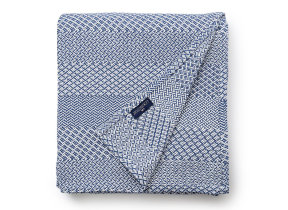 "Moderne Tagesdecke ""Lexington Structured Cotton Blue"""