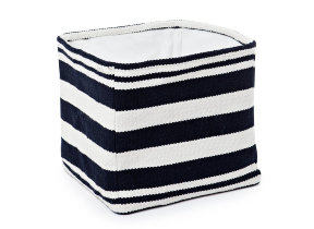 "Aufbewahrungskorb groß ""Lexington Striped Cotton Basket"""
