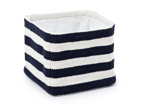 "Aufbewahrungskorb klein ""Lexington Block Striped Basket"""