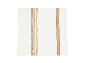 "Leinenserviette/Tischdeckchen Gewebemix ""Libeco West Hinder Wheat Stripe"""