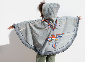 "Kinderponcho ""The Beach People Eagle"""