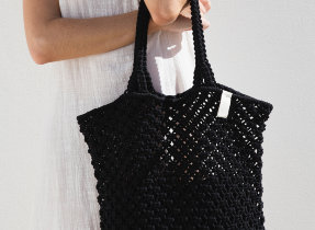 "Makramee Tasche ""The Beach People Macrame Tote Bag"""