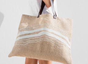 "Jute Tasche ""The Beach People Mirage"""