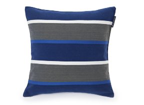 "Twillkissenbezug "" Lexington Striped Sham Blue Multi"", 50 x 50 cm - © bsmart ab"