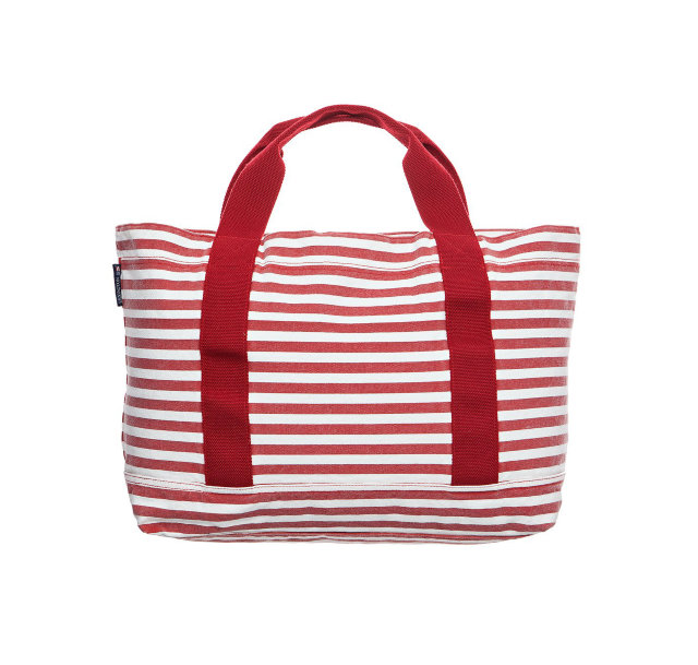 "Lexington ""Pacific Tote Bag"" Weiß/Rot"