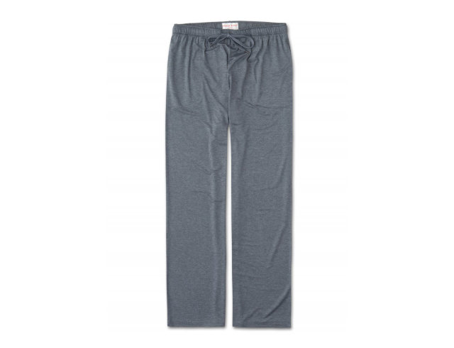 "Derek Rose Jersey Lounge Trousers ""Marlowe 1 Charcoal"""