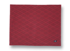 "Festliches Jacquard Tischset ""Lexington Red"" 40 x 50 cm"