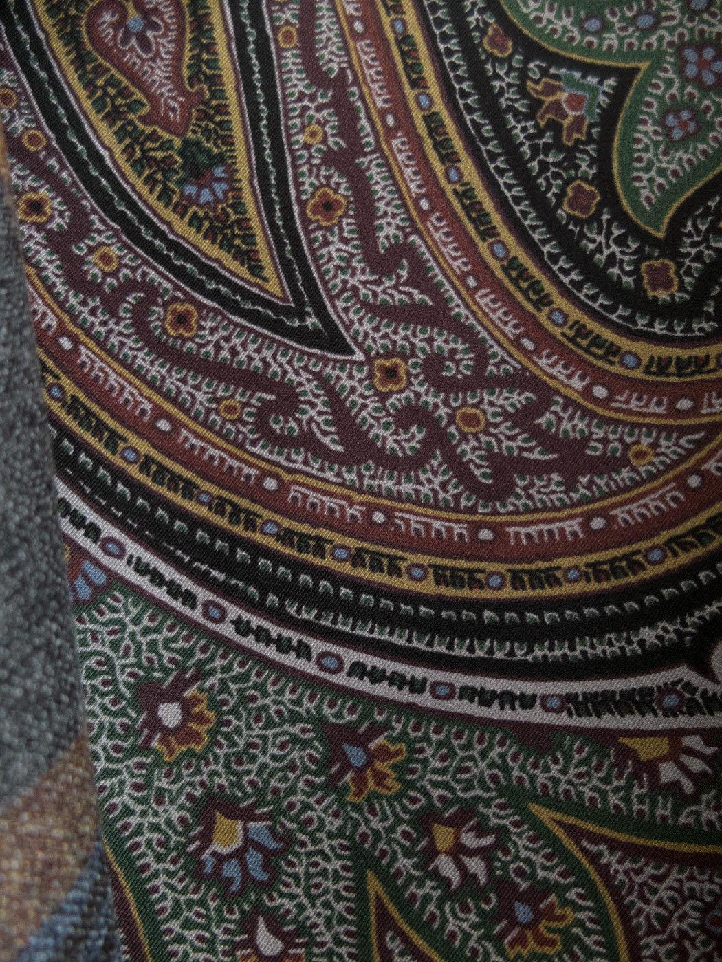 Kaschmir Hausmantel mit Seidenfutter von Etro