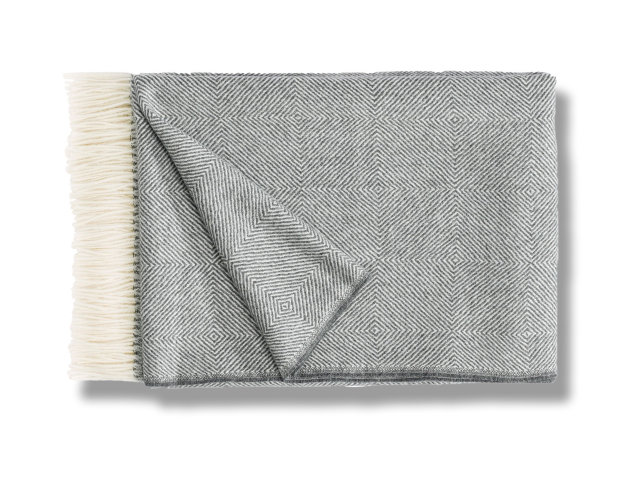 Plaid Fischbacher Noble Grey