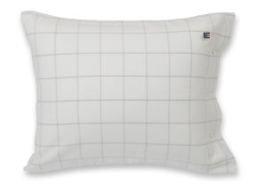 "Flanellbettwäsche ""Windowpane Lightbeige -​ Lexington Hotel Collection"""