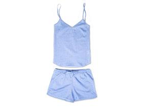 1cc6000a147bd Derek Rose. Damen Seidenpyjama kurz in Cremeweiß · Luftig leichter  Batistpyjama