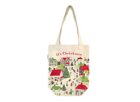 "Tote Bag ""Christmas Village"""