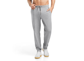 "Herrenhose lang ""Hanro Leisure -​ Grey Melange"""