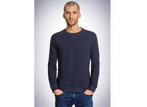 "Herren Sweater ""Schiesser Revival Walter"" in Navy"