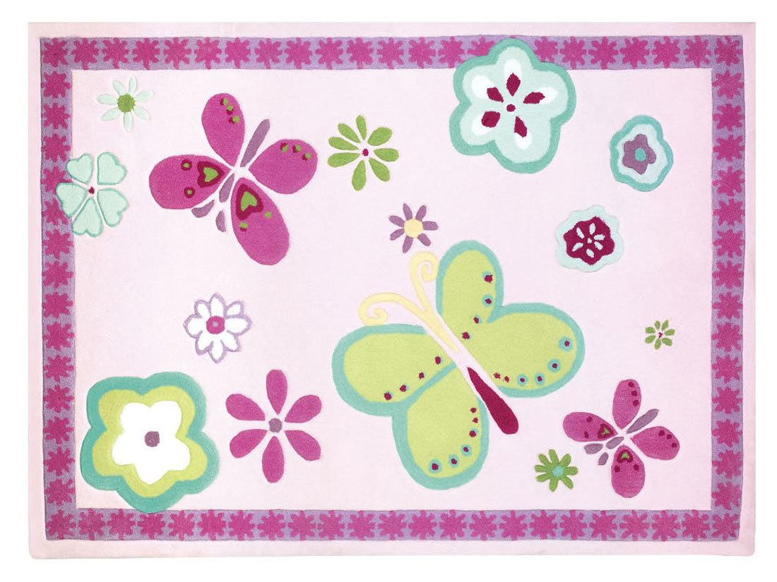 Kinderteppich schmetterling rosa  Kinderteppich Schmetterling Rosa | Haus Deko Ideen