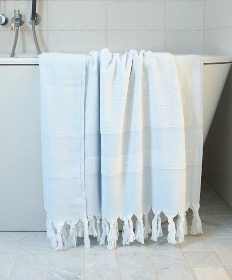 hamamtuch mit frottee sigli hellblau. Black Bedroom Furniture Sets. Home Design Ideas